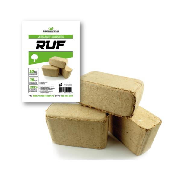 Briquette Wood Cubes RUF